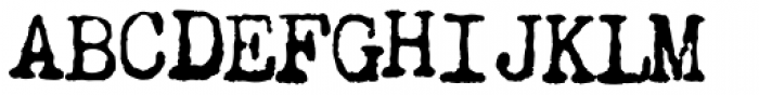 Chandler 42 Medium Font UPPERCASE
