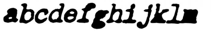 Chandler 42 Noir Italic Font LOWERCASE