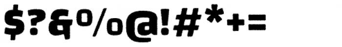 Changa Rugged Font OTHER CHARS