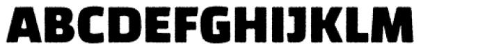 Changa Rugged Font UPPERCASE