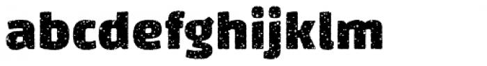 Changa Splat Font LOWERCASE