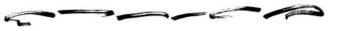 Change Brush Swash Font UPPERCASE