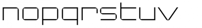 Changeling Neo Light Font LOWERCASE