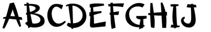 Changua Black Font UPPERCASE