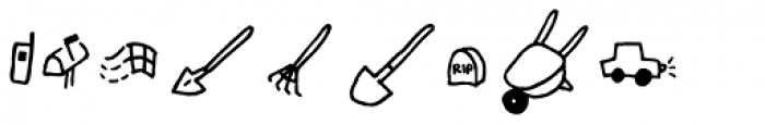 Chankbats Objects Font UPPERCASE