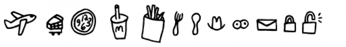Chankbats Objects Font LOWERCASE