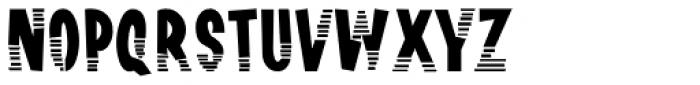 Channel Surfing JNL Font UPPERCASE