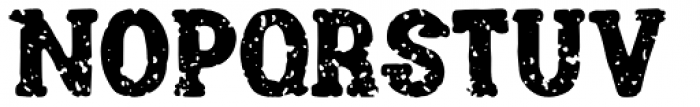 Channels Grunge Font UPPERCASE