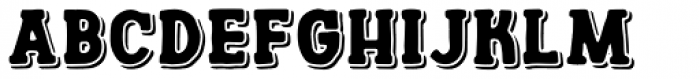 Channels Shadows Font LOWERCASE