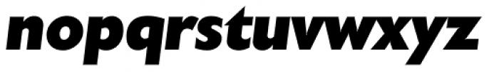 Chantilly Serial Heavy Italic Font LOWERCASE