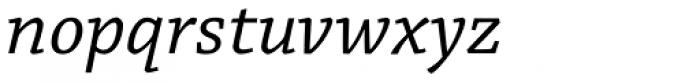 Chaparral Pro Caption Italic Font LOWERCASE