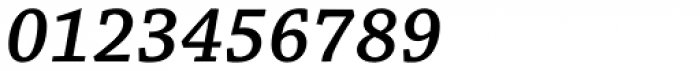 Chaparral Pro SemiBold Italic Font OTHER CHARS