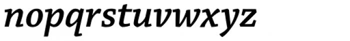 Chaparral Pro SemiBold Italic Font LOWERCASE