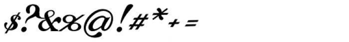 Chapel Script Font OTHER CHARS