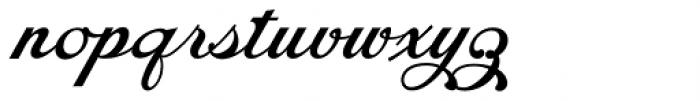 Chapel Script Font LOWERCASE