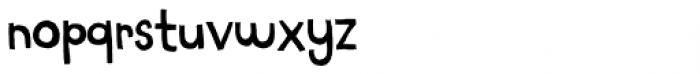 Chaplet Regular Font LOWERCASE