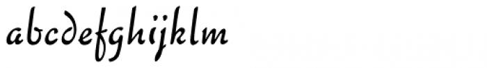 Chaplin Regular Font LOWERCASE