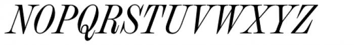 Chapman Regular Condensed Italic Font UPPERCASE