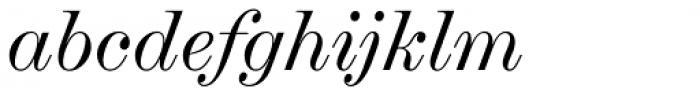 Chapman Regular Italic Font LOWERCASE