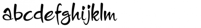 Charade JF Font LOWERCASE