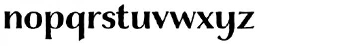 Charcuterie Contrast Font LOWERCASE