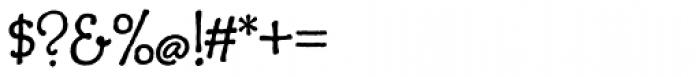 Charcuterie Cursive Basic Font OTHER CHARS