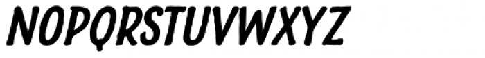 Charcuterie Sans Bold Italic Font LOWERCASE