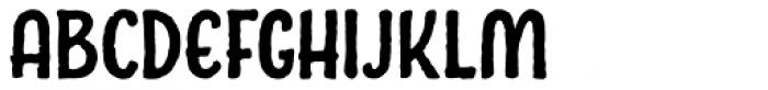 Charcuterie Sans Bold Font UPPERCASE