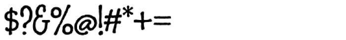 Charcuterie Sans Font OTHER CHARS