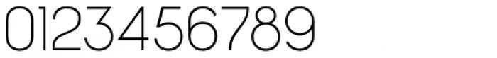 Charifa Sans Thin Font OTHER CHARS