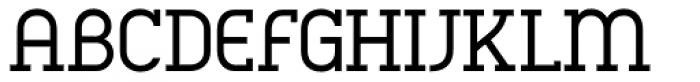 Charifa Serif Regular Font UPPERCASE