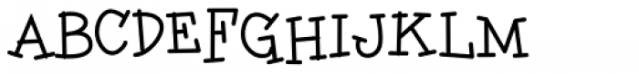 Charley Style Font UPPERCASE