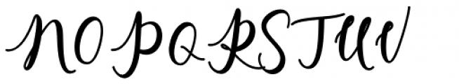 Charlinda Regular Font UPPERCASE