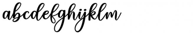 Charlinda Regular Font LOWERCASE