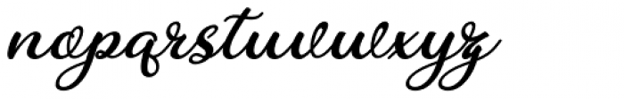 Charline Italic Font LOWERCASE