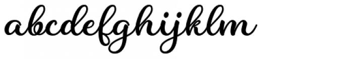 Charline Regular Font LOWERCASE