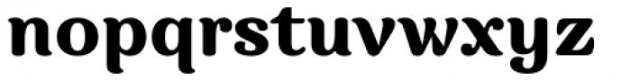 Charm Black Font LOWERCASE