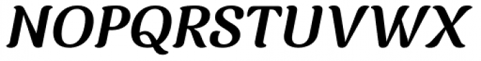 Charm Bold Italic Font UPPERCASE