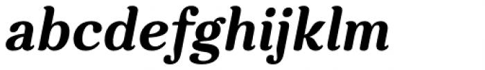 Charm Bold Italic Font LOWERCASE