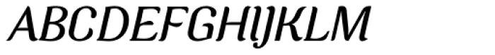 Charm Italic Font UPPERCASE