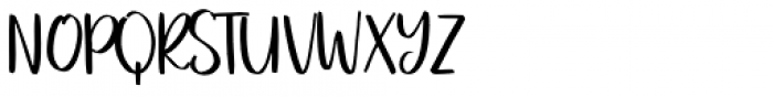 Charme Script Font UPPERCASE