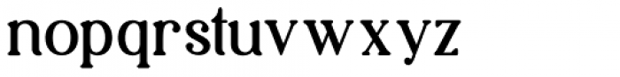 Charmini Regular Font LOWERCASE