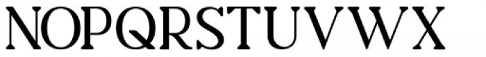Charmini Semi Light Font UPPERCASE