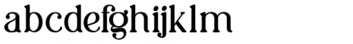 Charmini Semi Light Font LOWERCASE