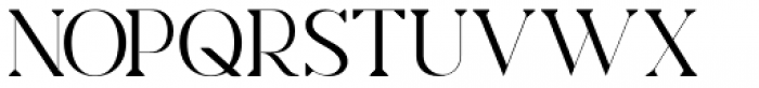 Charmini Thin Font UPPERCASE