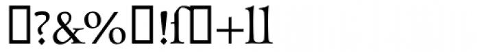 Charpentier Renaissance IF Font OTHER CHARS