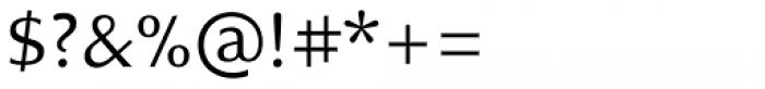 Charpentier Sans Pro 45 Leger Font OTHER CHARS