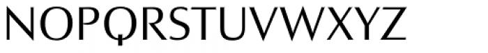 Charpentier Sans Pro 45 Leger Font UPPERCASE