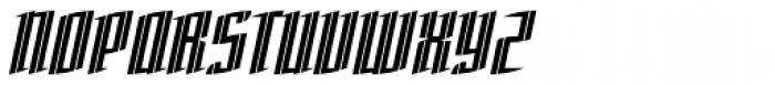 Charta Inline Font UPPERCASE