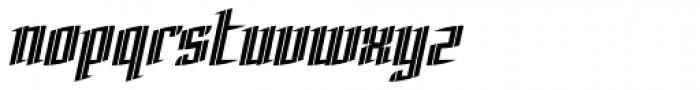 Charta Inline Font LOWERCASE